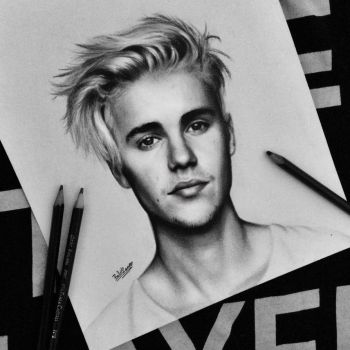 Justin Bieber drawing by BabiRamos