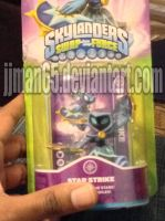 Skylanders Swap Force Series 1 Star Strike by jjman65