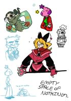 BECHNO DOODLE DUMP by nohra1994