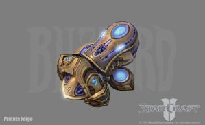SC2: Protoss Forge by PhillGonzo