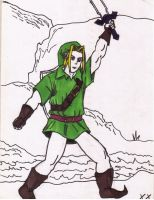 Link from Zelda by X2j2012