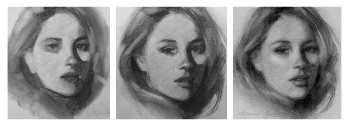 Charcoal Drawing Process by gabbyd70