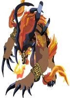 Ifrit work 3 by daylover1313