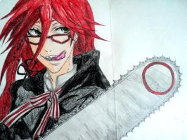 Grell Sutcliff by ayamechan14