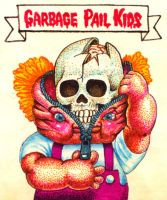 Garbage pail kids 1 by Real-Warner