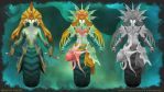 Dota 2 Polycount Contest: Naga Siren Concept by holdctrl