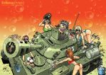 Army Day 4 _Dream tankman by Garri69