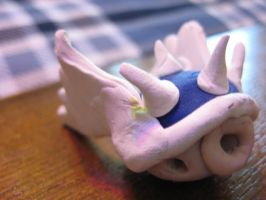 Clay Blue Spiny Shell from Mario Kart by Demetrax1