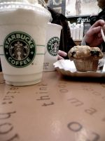 At Starbucks. by emotionalxcheerful