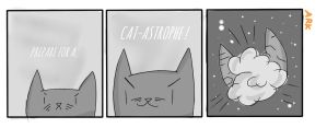 Cat Vader and his Death Meow as request by Arkannix