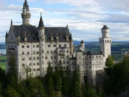 Neuschwanstein by GameOver1