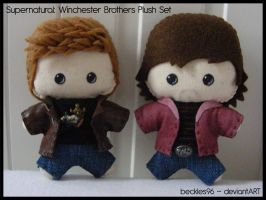Supernatural: Winchester Bros by StitchedAlchemy