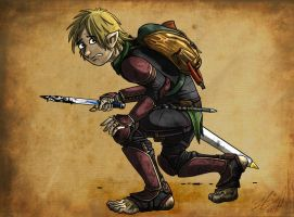 Borin Buckethissel - Halfling Rogue by Lizard-of-Odd
