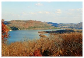 Fall On The  Cumberland River by TheMan268