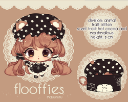 Flooffie Set Price - Cocoa and Marshmallow- CLOSED by mauururu
