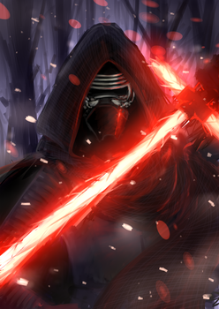 Star Wars :: The Force Awakens :: Kylo Ren by Graycchi