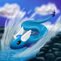 dragonair by CleverConflict
