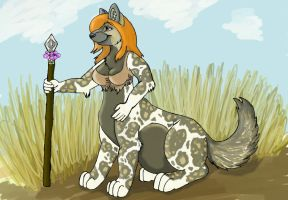 Tribal Taur Momma by Tsuhara