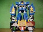 Megas XLR Project:Papercraft M.E.G.A.S. Complete by MarcGo26