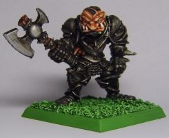 Realm of Chaos: Chaos Ogre by FraterSINISTER