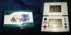Game and Watch - Zelda by XUnlimited