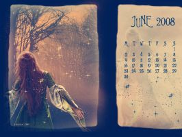 June Calendar-Magical Forest by Ithildiel