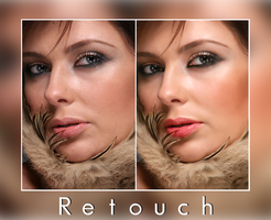 Retouch Work. by elyssafawn