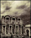 Ephesus Celsus Library 2 by orcunceyhan