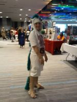 Haku Spirited Away Cosplay by SeaGoatInk