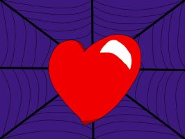 My Webbed Heart by caseygracy1234