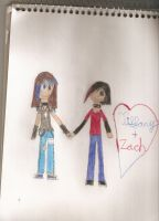 AT: Tiffany and Zach by choco-latte-squirrel