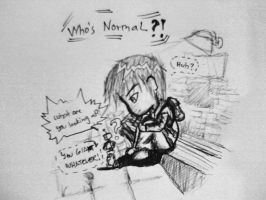 Who's NORMAL? by MissANN91