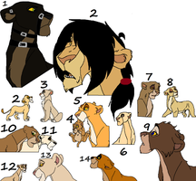 lion adoptables 42 by wolvesanddogs23