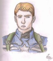 Realistic Captain America by LilAvengers