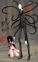 Slender and Girl by Chibi-Works