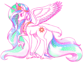 Alicorn of the Sun by RedShoebox