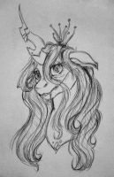 Queen Chrysalis by Skior
