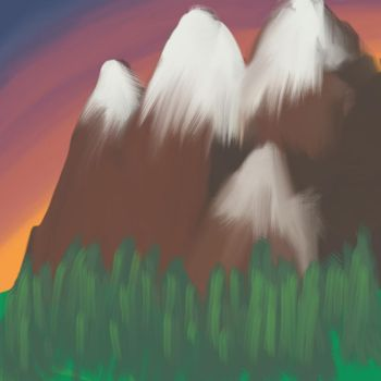 The mountains  by elliepuck