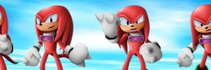 Knuckles Emotions: Free Riders by Coraleana