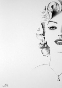 Marilyn Commission by IleanaHunter