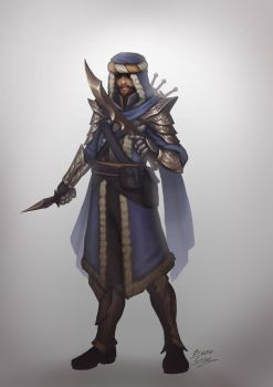 Yuzen - Thomas the rogue lord by b-cesar