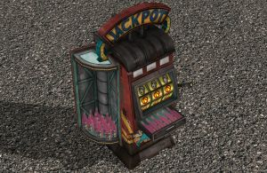 'Borderlands 2' Marcus's slotmachine XNA/XPS by lezisell