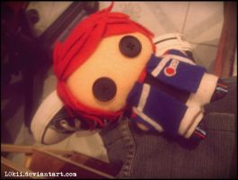 Party Poison plushie by L0kii