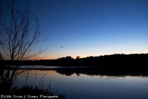 Shenipsit Lake at Twilight by average-jeau