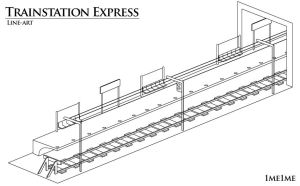 Express Line-art by 1me1me