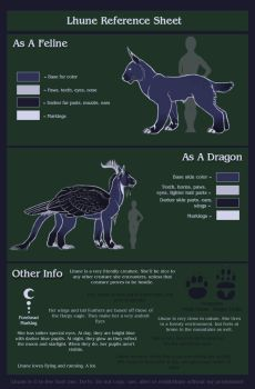Lhune Reference Sheet by LhuneArt