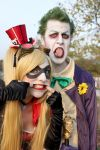 Harley Quinn and Joker by Elis90