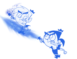 Anti-Cosmo vs Anti-Juandissimo by FairlyOddFan