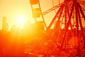 Sunset at ParkLife by 38mm