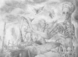 Release the moths. by InkOut
